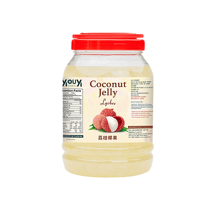 Lychee Coconut Jelly