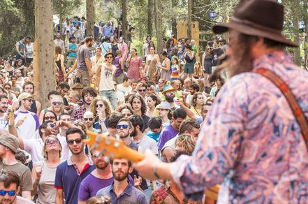 לייזר לויד בפסטיבל יערות מנשה