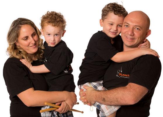 צילום משפחות בסטודיו