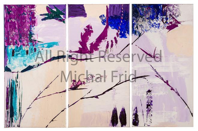 רפרודוקציות ציור של מיכל פריד