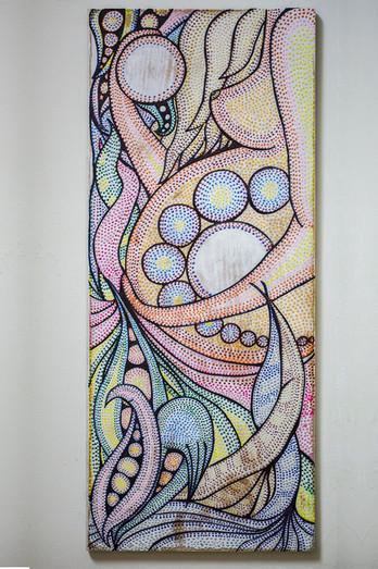 ציור הריון בנקודות