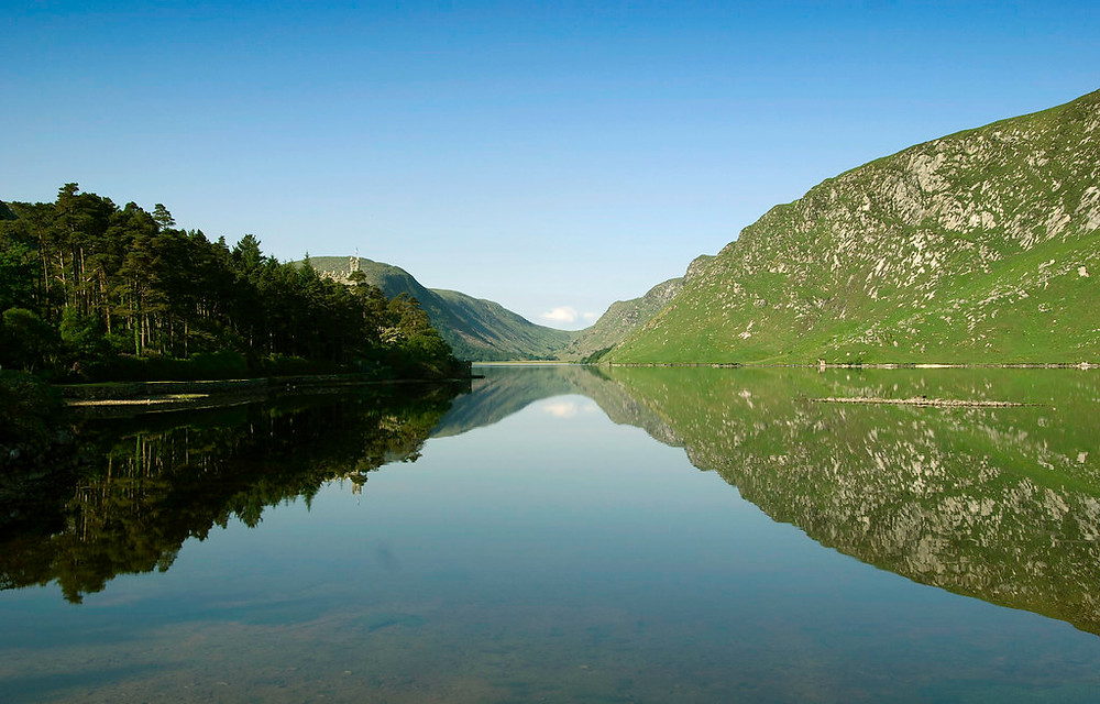 A stunning view of Glenveagh National Park