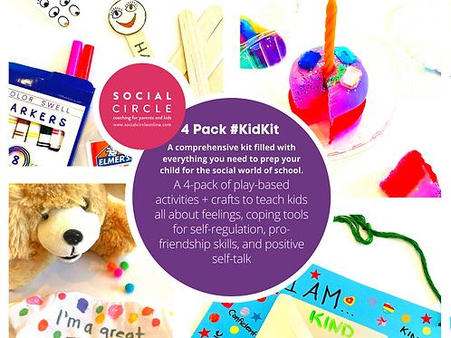 4 Pack #KIDKIT