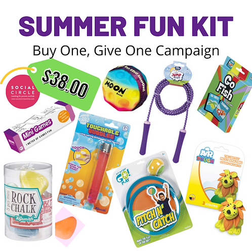 Summer Fun Kit - Buy one, Give one Campaign