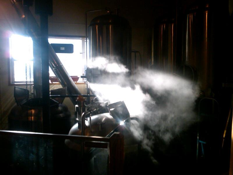 Early morning in the Brewery