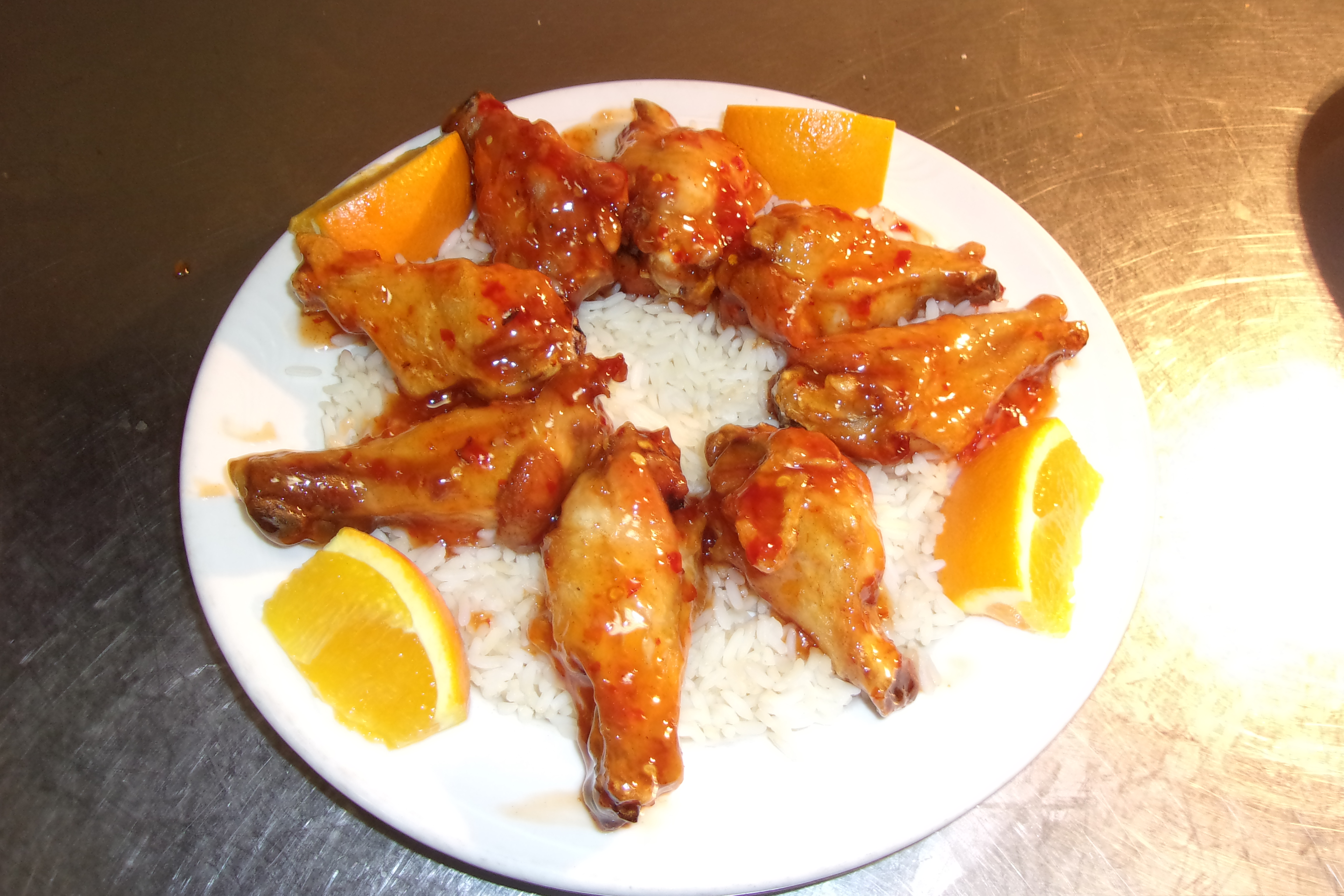 Sweet & Sour Wings Appetizer