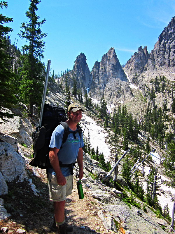 Backpacking in the Crags