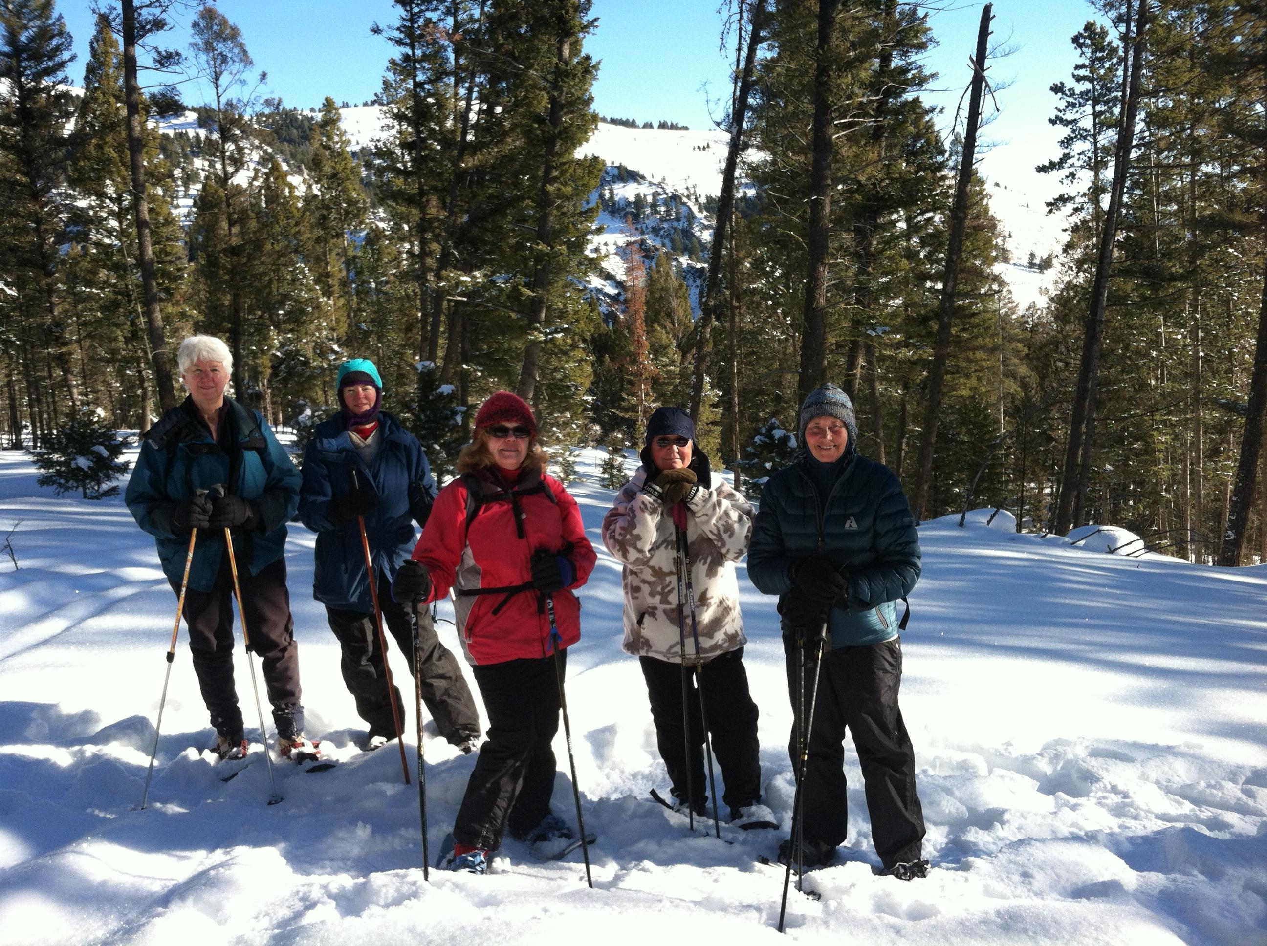Skiing & Snowshoeing