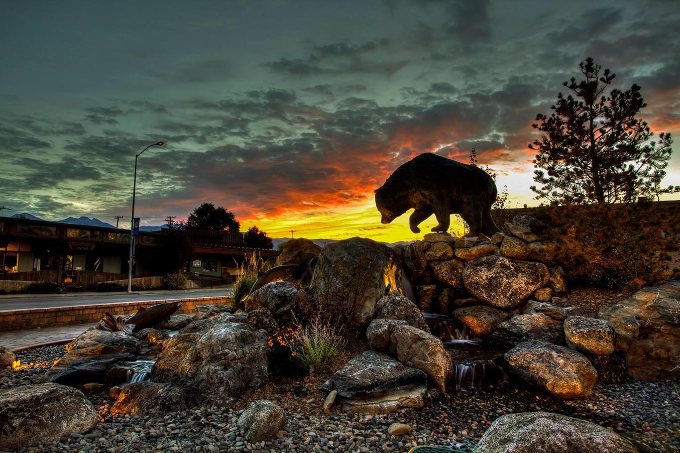 The Bear in Bronze by Robert Deurloo