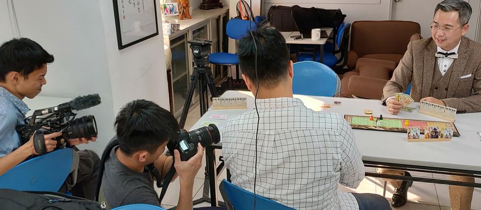 鏡週刊至學院專訪朱老師