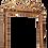 Thumbnail: LARGE 18C LOUIS XV GILTWOOD MIRROR
