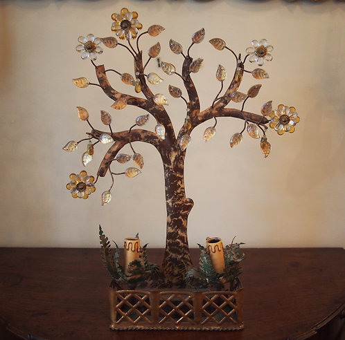 Bagues Style Tree Form Lamp