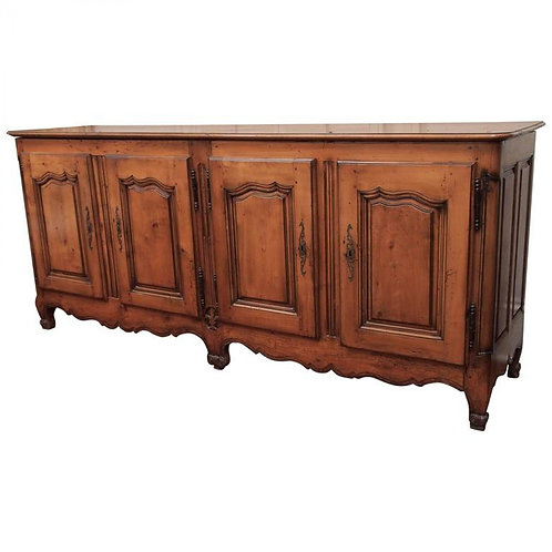 FOUR DOOR FRENCH FRUITWOOD BUFFET