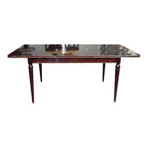 MAISON JANSEN MAHONGANY DINING TABLE
