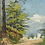 Thumbnail: OIL ON CANVAS LANDSCAPE IN A PERIOD FRAME
