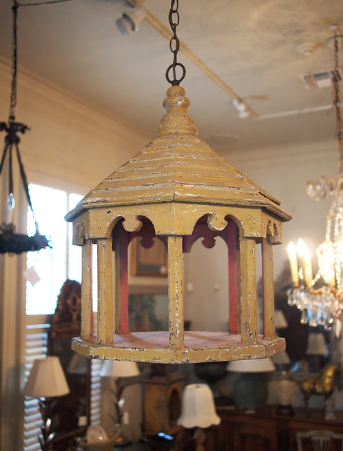 Pagoda Form Ceiling Light