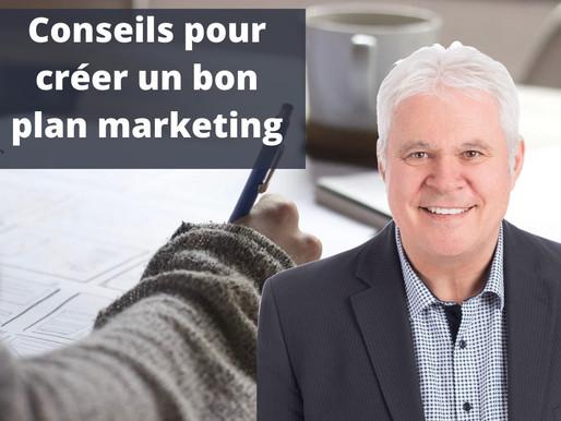 Les essentiels d'un bon plan marketing