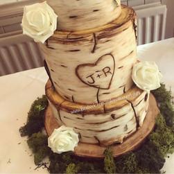 Birchwood Wedding Cake