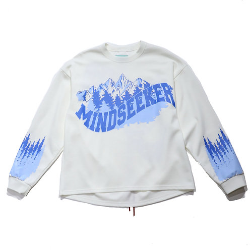 Kelowna long sleeve T / WHITE