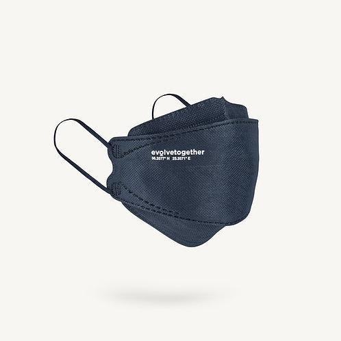 KN95 evolvetogether / navy(5 face masks pack)