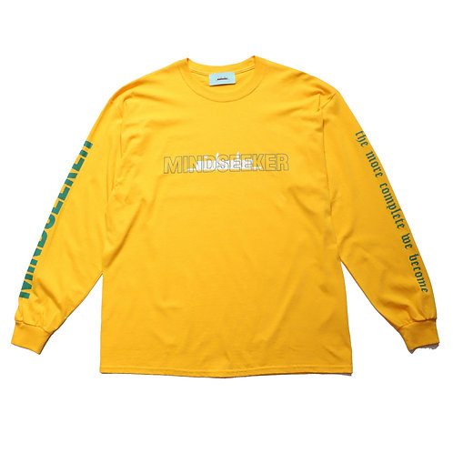 BEYOND  long sleeve T-shirt / GLD〔LIMITED〕