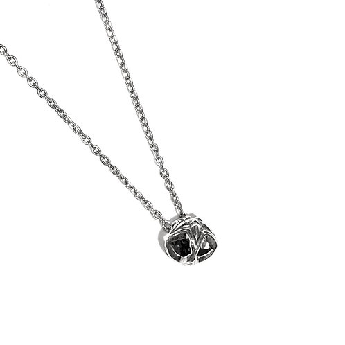 EXTRA TINY DOUBLE FACE STAR IN STAR STUD PENDANT