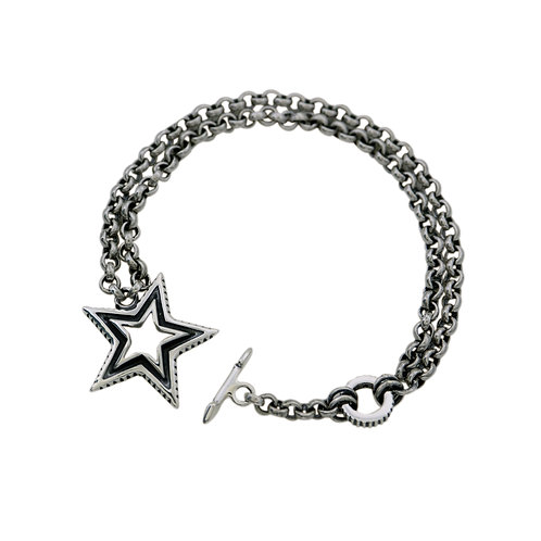 SMALL SHOOTING STAR CHAIN BRACELET