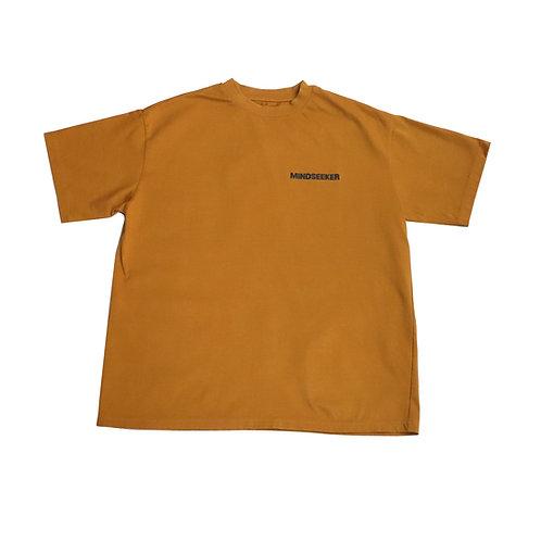 Loose fit logo TEE / BROWN