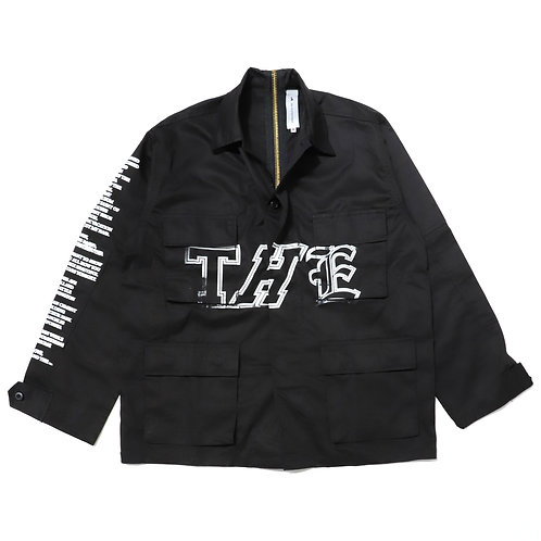 THE Cargo Jacket / Black