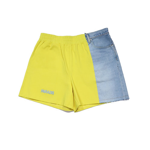 3.PARADIS / NOBO shorts denim hybrid