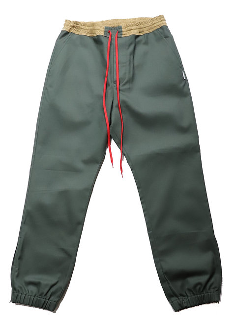 Jogger Work Pants / OLIVE GREEN