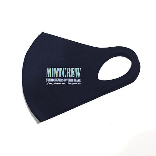 MINTCREW LOGO 3D MASK / BLUE