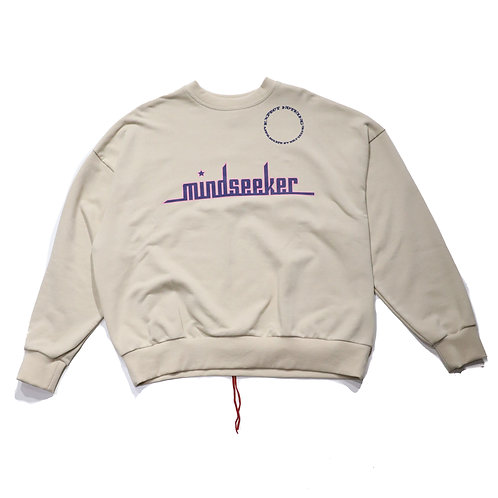 The biggining crewneck / IVORY