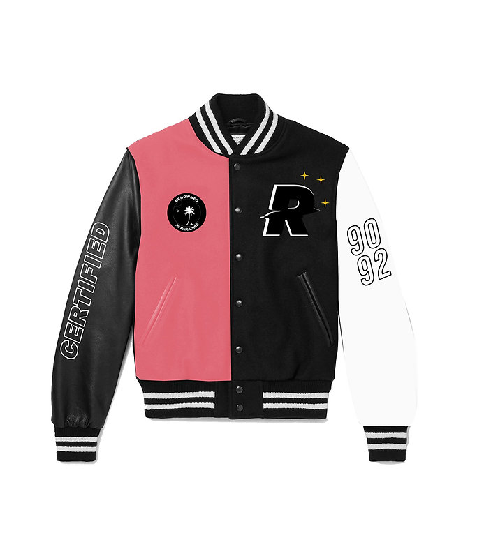 RENOWNED x DOK2 Collaborative VARSITY JACKET