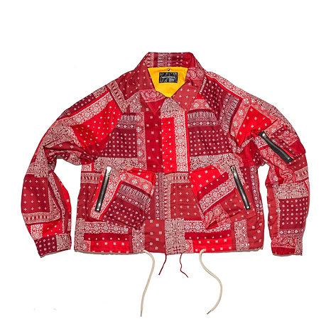 Bandana Parachute Blouson / Red