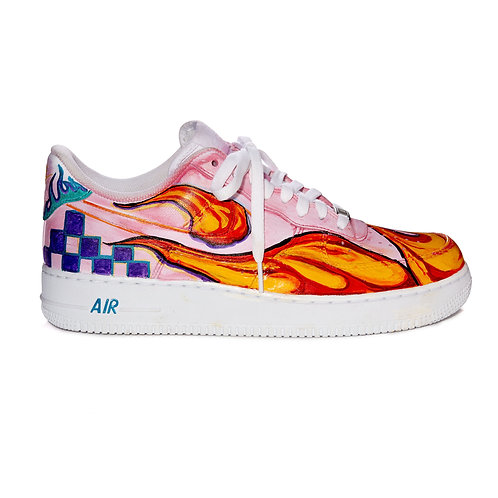 CAVIALE ONE-OFF Custom Paint AIR FORCE 1 / Pink / 28cm