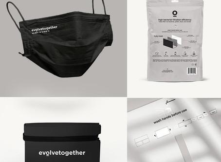 NY発 高機能ファッションマスク「evolvetogether」
