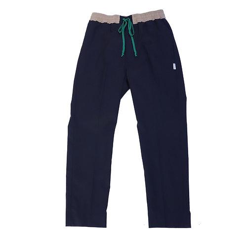 slacks pants 21ss / BLACK
