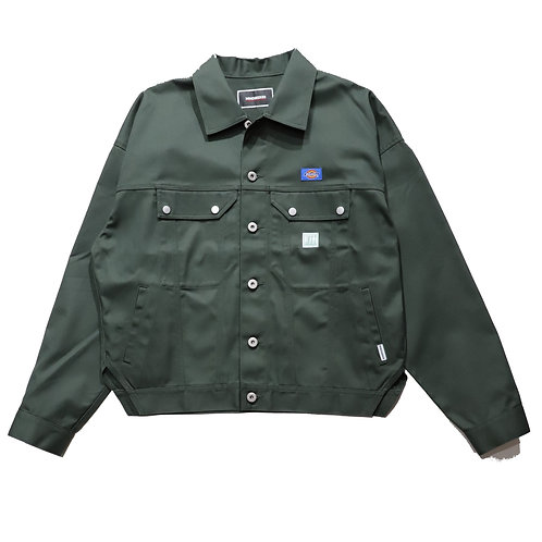 Overfit Type2 Work Jacket / OLIVE GREEN
