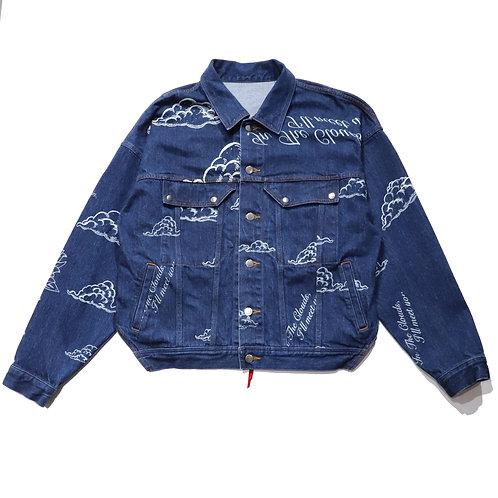 Overfit 2nd denim jacket / INDIGO