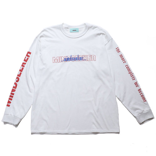 BEYOND  long sleeve T-shirt / WH