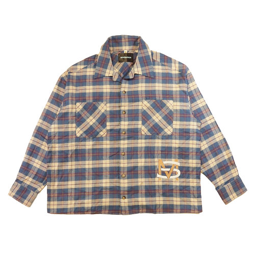 MS Check Shirt / BL