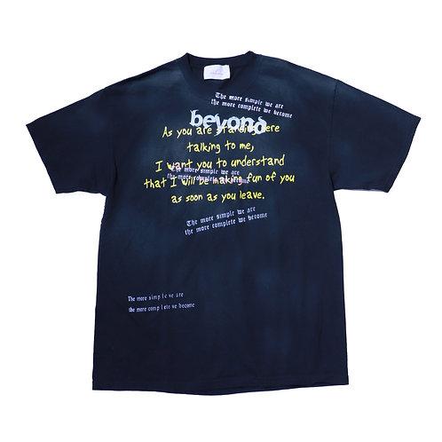 Vintage T-shirt message