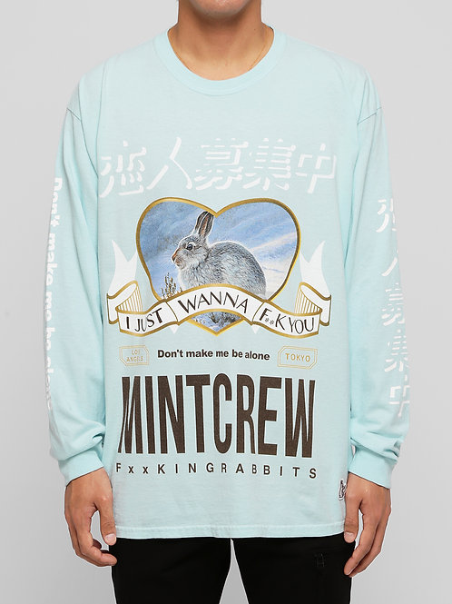 〔MCFR 3〕MINTCREW collaboratin with #FR2 L/S Tee / MINTGR