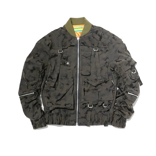 Tactical Bomber Jacket / CAMO
