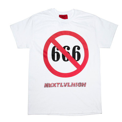 NO666 NEXT LV HIGH Tee / White