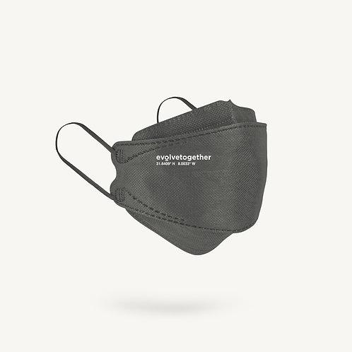 KN95 evolvetogether / gray(5 face masks pack)