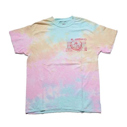 tie-dye travelstamp T-shirt