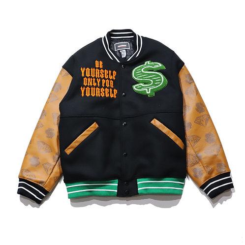 $ over fit Starter Jacket