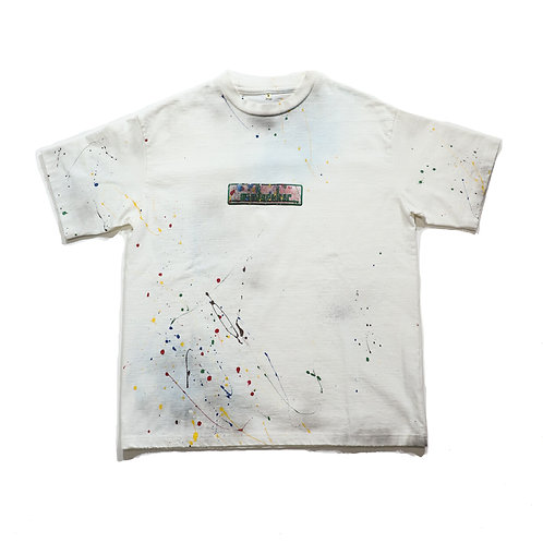 BOX LOGO PAINT TEE 07